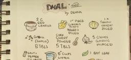 Dhal + Rice